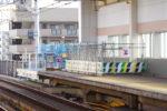 阪神本線で8両運転へ?今津でホーム延伸工事中!(その1)