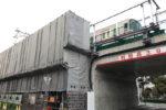 阪神本線で8両運転へ?魚崎でもホーム延伸工事中!(その2・駅外から見る編)