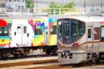 大阪環状線201系、運用終了から2週間経っても森ノ宮。しかも通電?(その1)