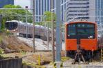 大阪環状線201系、運用終了から2週間経っても森ノ宮。しかも通電?(その2)