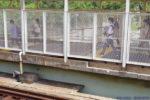 阪神本線で8両運転へ?武庫川駅ホーム延伸工事(7月編③・工事状況編)