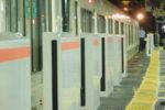 190824 環状線・京橋駅にホームドア設置!!…まだ一部だけ!
