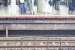 190806 大阪駅・環状線ホームドア設置工事の進捗-外回り福島方のみ工事が施される