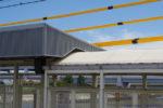 阪神本線で8両運転へ? 武庫川駅ホーム延伸工事(9月編②・下りホームもあまり変化なし)