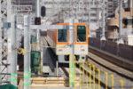 阪神本線で8両運転へ!魚崎駅ホーム延伸工事で駅撮りはしにくくなるかも