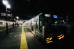 JR神戸線のレア光景・芦屋駅折返しの様子
