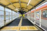阪神本線で8両運転へ!武庫川駅ホーム延伸工事(2月上り・こちらもほぼ完成!!)