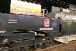 【動画】シキ801B2による特大貨物(変圧器)輸送@野田駅