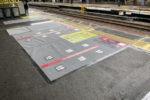 20201002、鶴橋駅にホームドア本体が設置される(その2)